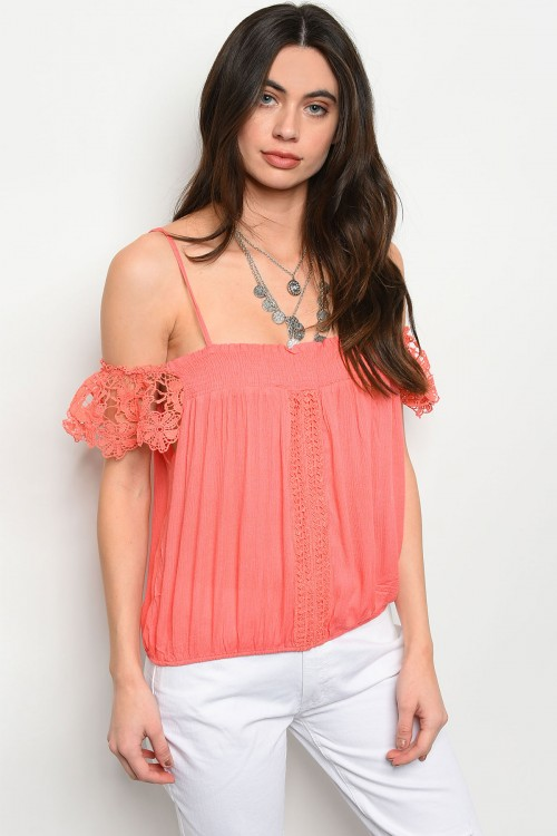 S16-1-3-T3636 CORAL TOP 2-2-2