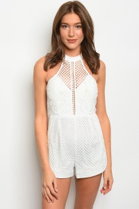 S4-3-5-R00179 OFF WHITE ROMPER 2-2-2