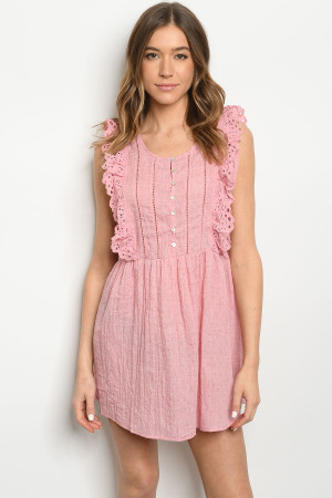 S9-2-4-D1568 DUSTY PINK DRESS 2-2-2