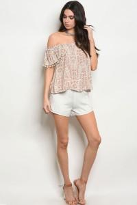 S2-7-5-NA-S2120 OFF WHITE SHORTS 2-2-2