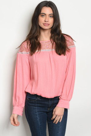 S12-9-1-T49170 PINK TOP 2-2-2