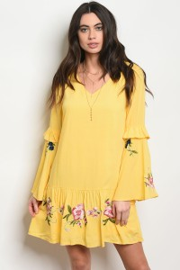 S11-14-3-D58439 YELLOW DRESS 2-2-2