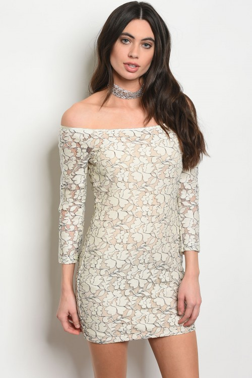 S24-8-2-D96146 CREAM NUDE DRESS 3-1