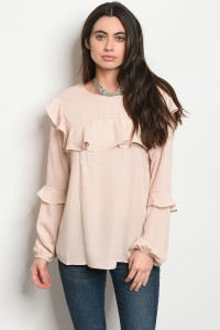 S11-1-1-T8009 BLUSH TOP 2-2-2