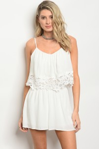 119-2-4-R4140 OFF WHITE ROMPER 2-2-3