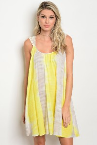 C5-A-1-D2584 YELLOW DRESS 4-2