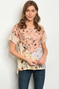 135-2-4-T5093 BEIGE MULTI TOP 2-2-2