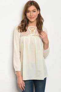 S10-19-2-T3295 IVORY TOP 2-2-2
