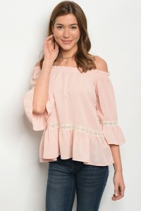 S11-15-3-T3252 BLUSH TOP 2-2-2