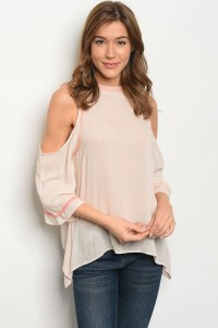 134-2-1-T3270 LIGHT PINK TOP 2-2-2-1