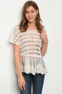 S8-3-1-T014 OFF WHITE TOP 2-2-2