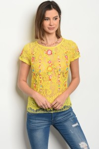 113-2-1-T03155 YELLOW TOP 2-2-2