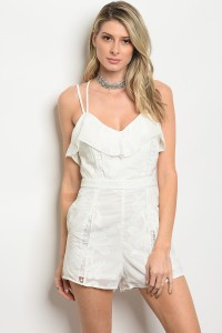117-2-1-R03103 OFF WHITE ROMPER 2-3-2