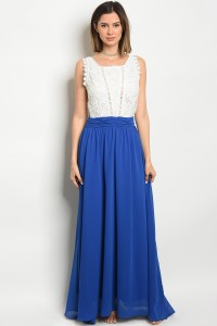 117-2-1-D2315 IVORY ROYAL DRESS 3-2-2