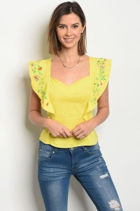117-2-1-T05888 YELLOW TOP 1-1-1