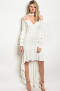 S13-6-4-D07966 OFF WHITE DRESS 2-2-2