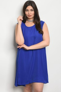 C18-A-2-D65142X ROYAL PLUS SIZE DRESS 2-2-2