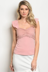 C40-B-5-T2834 PINK TOP 2-2-2