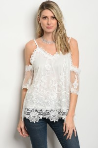 132-1-5-T02724 WHITE TOP / 3PCS