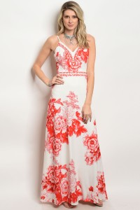 S2-4-5-D06922 IVORY RED DRESS 2-2