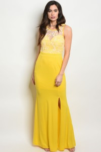 S11-7-2-D02928 YELLOW DRESS 2-2-2