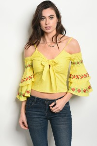 135-4-1-T08670 YELLOW TOP 2-2-2
