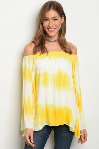C14-B-1-T1262 IVORY YELLOW TOP 3-3