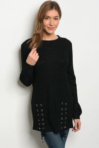 S2-4-5-S1711 BLACK LIGHT SPRING KNIT SWEATER 3-3