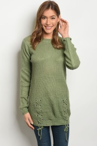 S2-4-3-S1711 SAGE LIGHT SPRING KNIT SWEATER 3-3