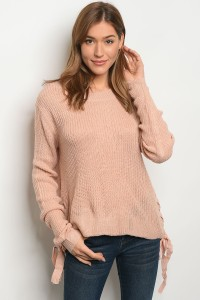 S2-6-3-S1703 ROSE LIGHT SPRING KNIT SWEATER 3-3