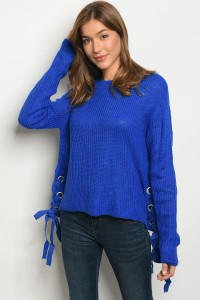 126-1-3-S1703 ROYAL LIGHT SPRING KNIT SWEATER 2-4
