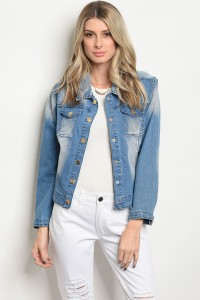 112-2-3-J09111 BLUE DENIM JACKET 2-2-2
