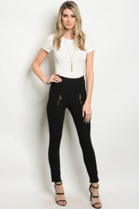 111-2-2-L5013 BLACK LEGGINGS / 10PCS