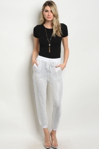 136-1-2-NA-P62054 WHITE SILVER WITH SEQUINS PANTS 3-2-1