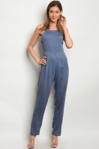 S9-5-1-NA-J61682 DENIM BLUE JUMPSUIT 3-2-1