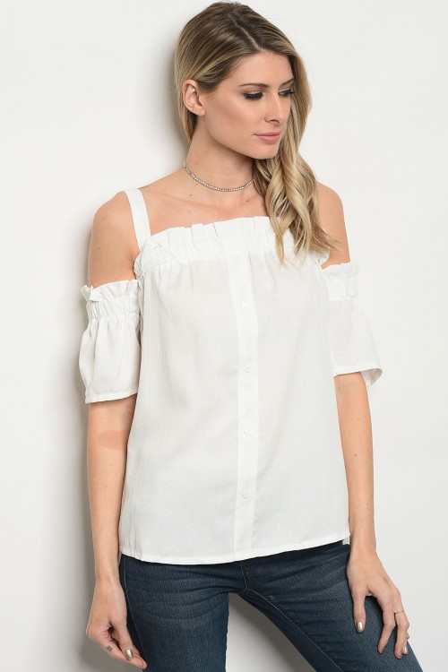 S23-1-1-T1043 OFF WHITE TOP 2-1-1