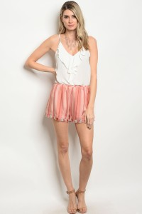S8-1-3-NA-S62028 RUST STRIPES SHORTS 2-2-2