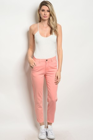 S3-6-1-P1021 PEACH PANTS 3PCS