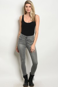 S5-1-1-J8872 GRAY DENIM JEANS 2-2-2-2-2-1-1