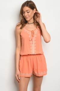S9-12-3-RY207 PEACH CREAM ROMPER 2-2-2