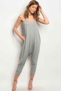 C17-A-2-J5010A GRAY JUMPSUIT 2-2-2
