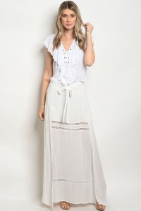112-5-1-S9175 OFF WHITE SKIRT 3-2-1
