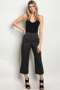 S13-9-3-NA-P61746 CHARCOAL CHECKERS PANTS 3-2-1