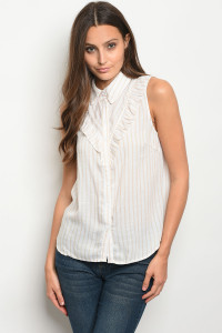 S13-4-1-T9244 WHITE TAUPE TOP 3-2-1