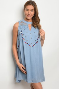 S11-1-3-DSL4379 LIGHT BLUE DRESS 2-2-2