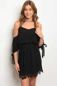S11-1-4-DSL4136 BLACK DRESS 2-2-2