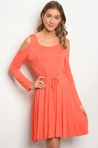 S8-2-4-DSL4271 ORANGE DRESS 2-2-2