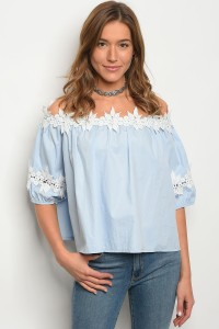 S9-11-2-T3726S0 BABY BLUE WHITE TOP 4-2