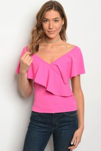 C90-B-4-T3286 FUCHSIA TOP 2-2-2