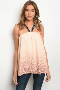 S10-5-2-T2113 PEACH MAUVE TOP 2-2-2